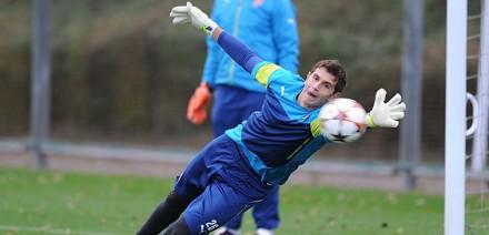 Emiliano Martínez Arsenal Training Session