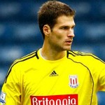 Asmir Begovic Goalkeeper Stoke City