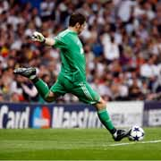 Iker Casillas Goal Kick