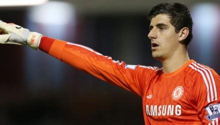 Chelsea's Thibaut Courtois