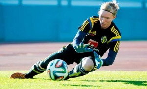 Hedvig Lindahl Chelsea and Sweden Goalkeeper
