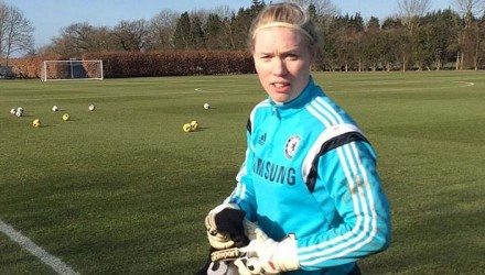 Hedvig Lindahl Chelsea and Sweden Ladies Goalkeeper