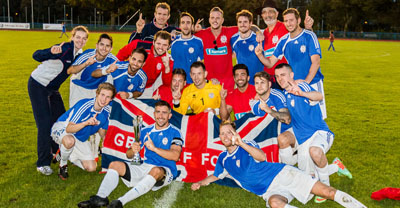 GB Deaf Football Champions