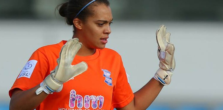 Rebecca Spencer Birmingham Goalkeeper