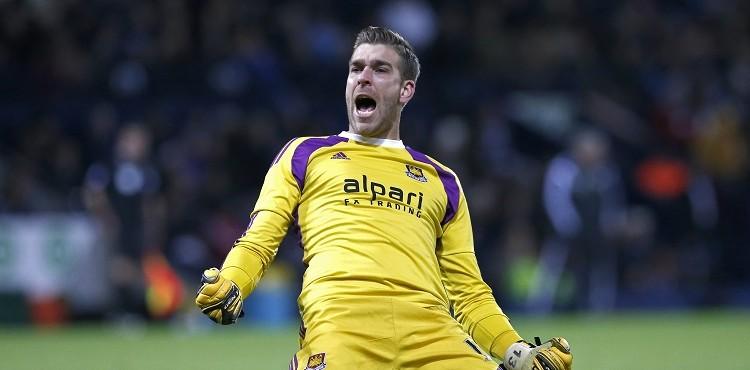 Adrian West Ham Goalkeeper