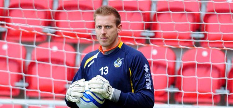 Steve Mildenhall Bristol Goalkeeper